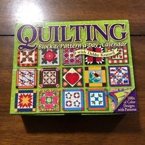 2006 Quilting Block & Pattern-a-day Calendar